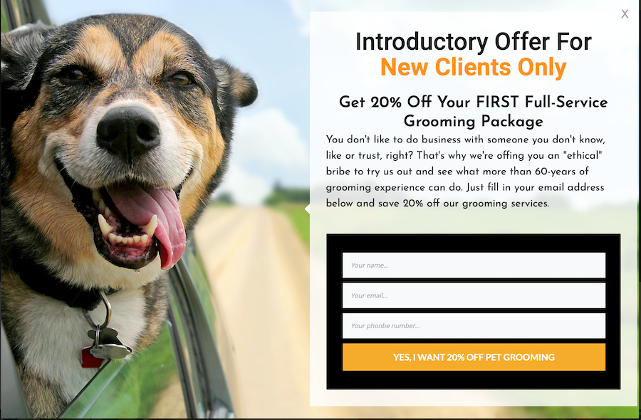 pet-grooming-offer-landing-page