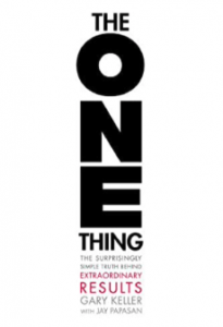 Picture of the ONE thing book
